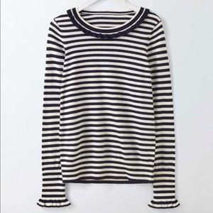Boden Bernadette Striped Sweater Jumper